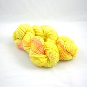 "Hand Dyed 70/30% Peruvian Highland Wool & Superfine Alpaca Bulky Weight Yarn, ""Last Days of Summer"" 110 yards"